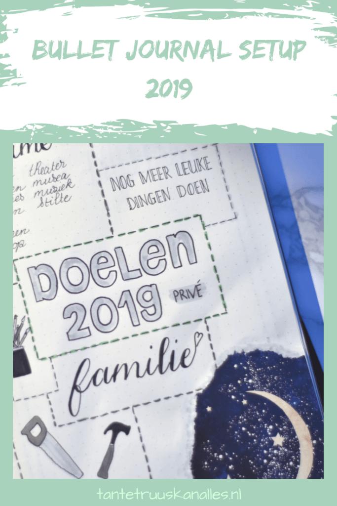 Bullet Journal Setup 2019