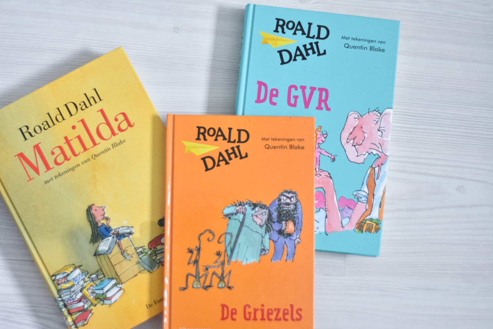 de 7 leukste kinderboeken boeken van Roald Dahl