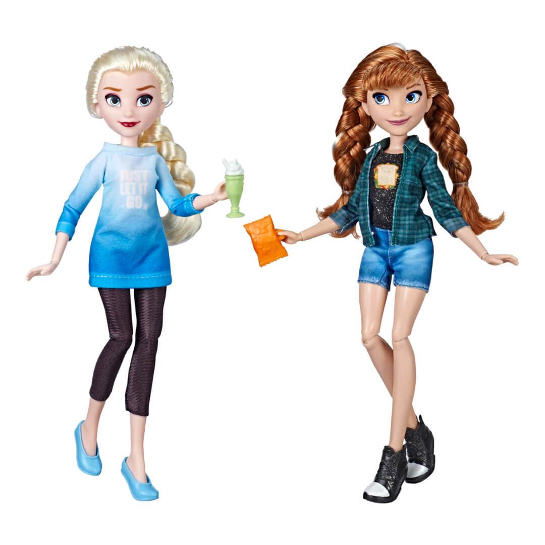 Leuke Sinterklaascadeaus voor jouw kind met Disney Comfy Squad Elsa en Anna