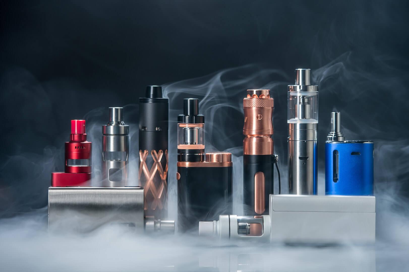Een e-sigaret kan uitkomst bieden verschillende soorten e-sigaretten