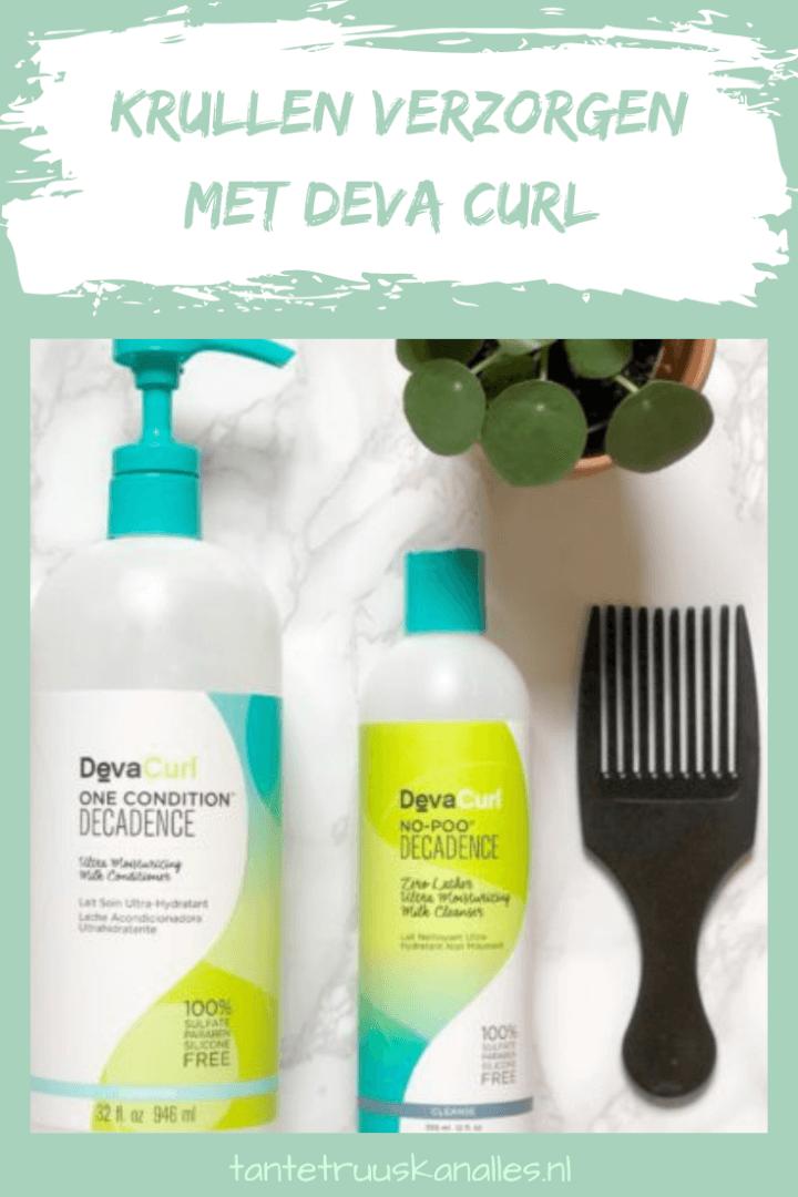 Krullen verzorgen met Deva Curl
