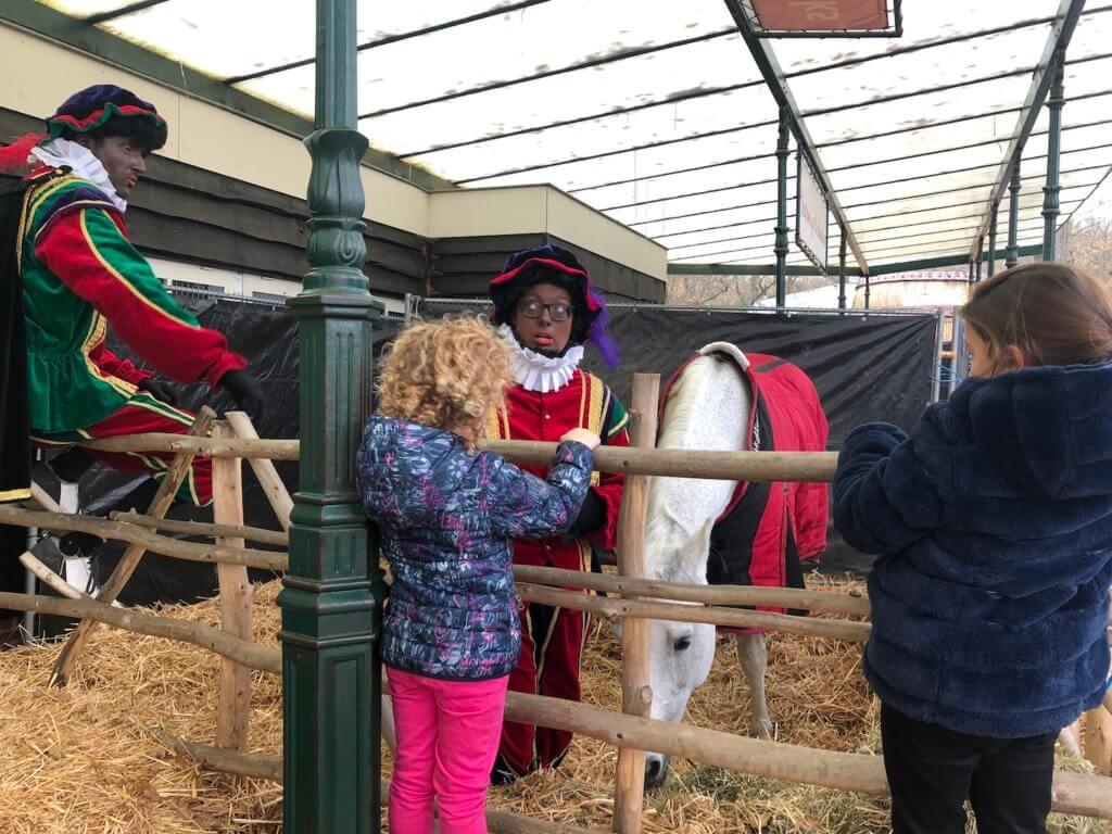 Voor mijn werk op pad naar het Landgoed van Sinterklaas