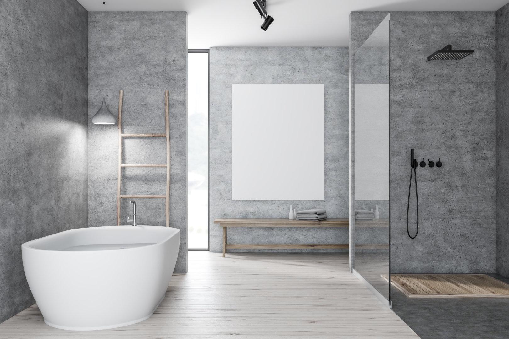 de perfecte badkamer grijs