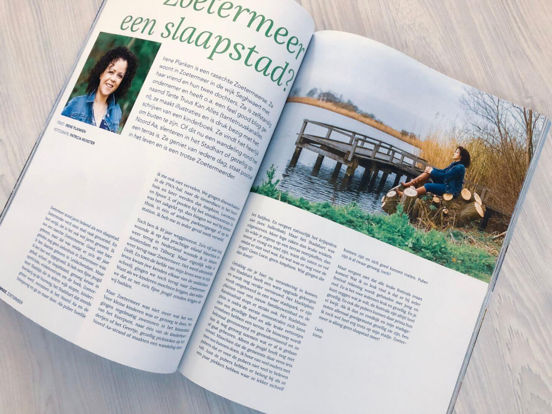 gelukkig komt alles goed en mijn column in Zoetermeerse Glossy TRNDZ
