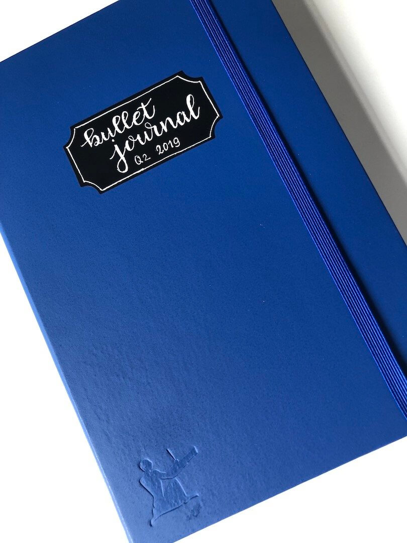 Mijn verse en nieuwe bullet journal voor het tweede kwartaal van het jaar