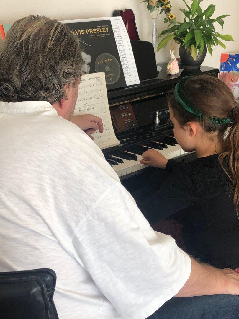 pianoles van opa